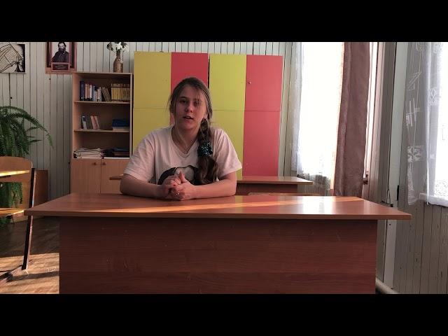 Изображение предпросмотра прочтения – АнастасияПолякова читает произведение «Как правая и левая рука» М.И.Цветаевой