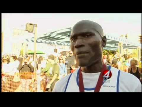 Kenyan wins Duke City marathon