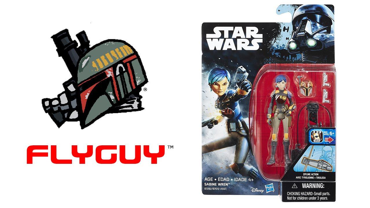 Star Wars Rogue One Rebels Sabine Wren Figure 3.75 Inch Wave 1 New!