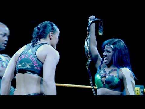 Shayna Baszler vows to end Ember Moon's NXT Women's Title reign at TakeOver: New Orleans