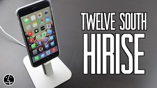 Обзор док станции Twelve South HiRise для iPhone/iPad/iPod с Lightning