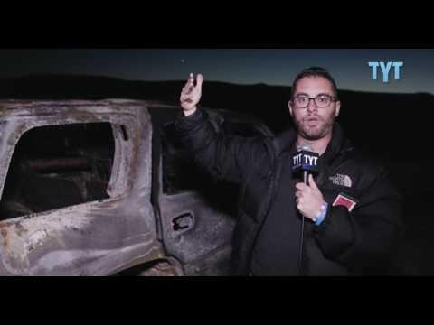 Jordan Reports From Standing Rock's Burnt Rubble