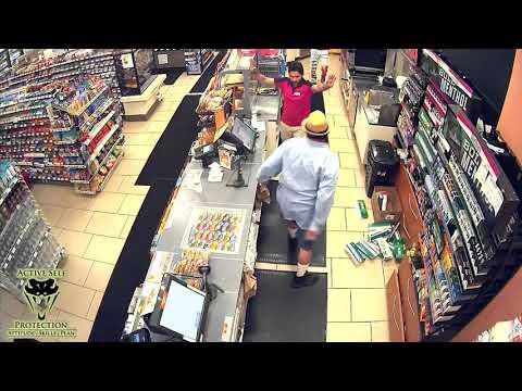 Los Angeles Grandpa Executes A Slim Jim Robbery