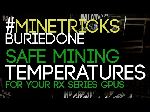 #MineTricks What is a SAFE GPU Temperature for Mining?