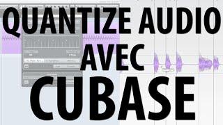 QUANTIZE AUDIO avec CUBASE - www.lamachineamixier.com