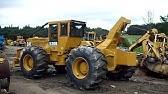 1987 Caterpillar 518 Log Skidder For Sale sn# 95U01659 - YouTube