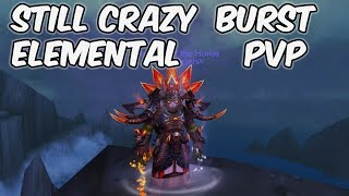 Still Crazy Burst - 8.1 Elemental Shaman PvP - WoW BFA