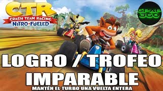 Crash Team Racing Nitro-Fueled | Logro / Trofeo: Imparable (Cómo usar el turbo sin parar)