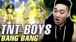 TNT Boys | Jessie J, Ariana Grande & Nicki Minaj - Bang Bang REACTION!!! (Your Face Sounds Familiar)
