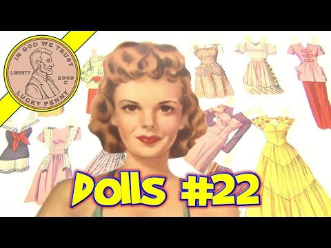 Vintage Paper Dolls Collection - Paper Doll Video 22 - Judy Garland