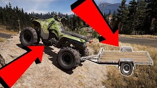 Far Cry 5 ATV On Trailer can it be done