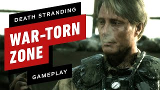Fighting Through Death Stranding's First War-Torn Zone