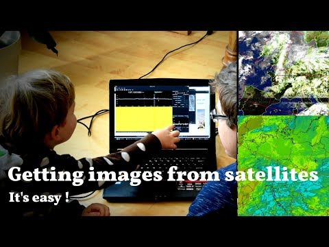 Hacking the TV tuner and making DIY antena to recieve weather images from satellites (NOAA)
