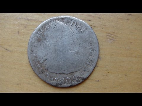 Metal Detecting Silver Coins In the Mountains