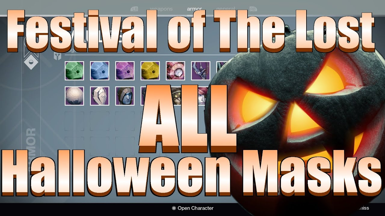 Destiny - Festival Of The Lost Limited Time Event (All 17 ...