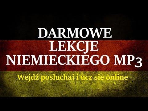 DARMOWE LEKCJE NIEMIECKIEGO - Język Niemiecki dla Początkujących (MP3)