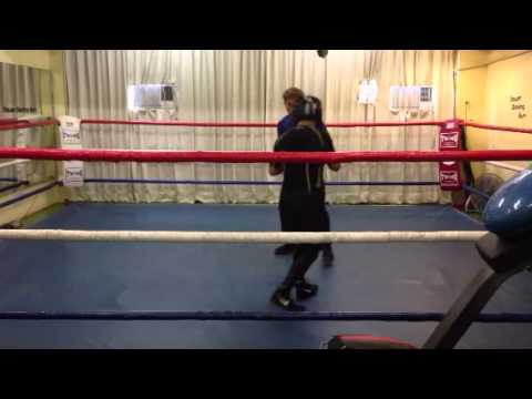 Sparring with Ken Wong