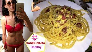 CARBONARA LIGHT che NON FA INGRASSARE!!! | Carlitadolce Cucina