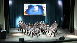 Twinkle team Show by Vero. Первый  год обучения. All Stars Fiesta 2015