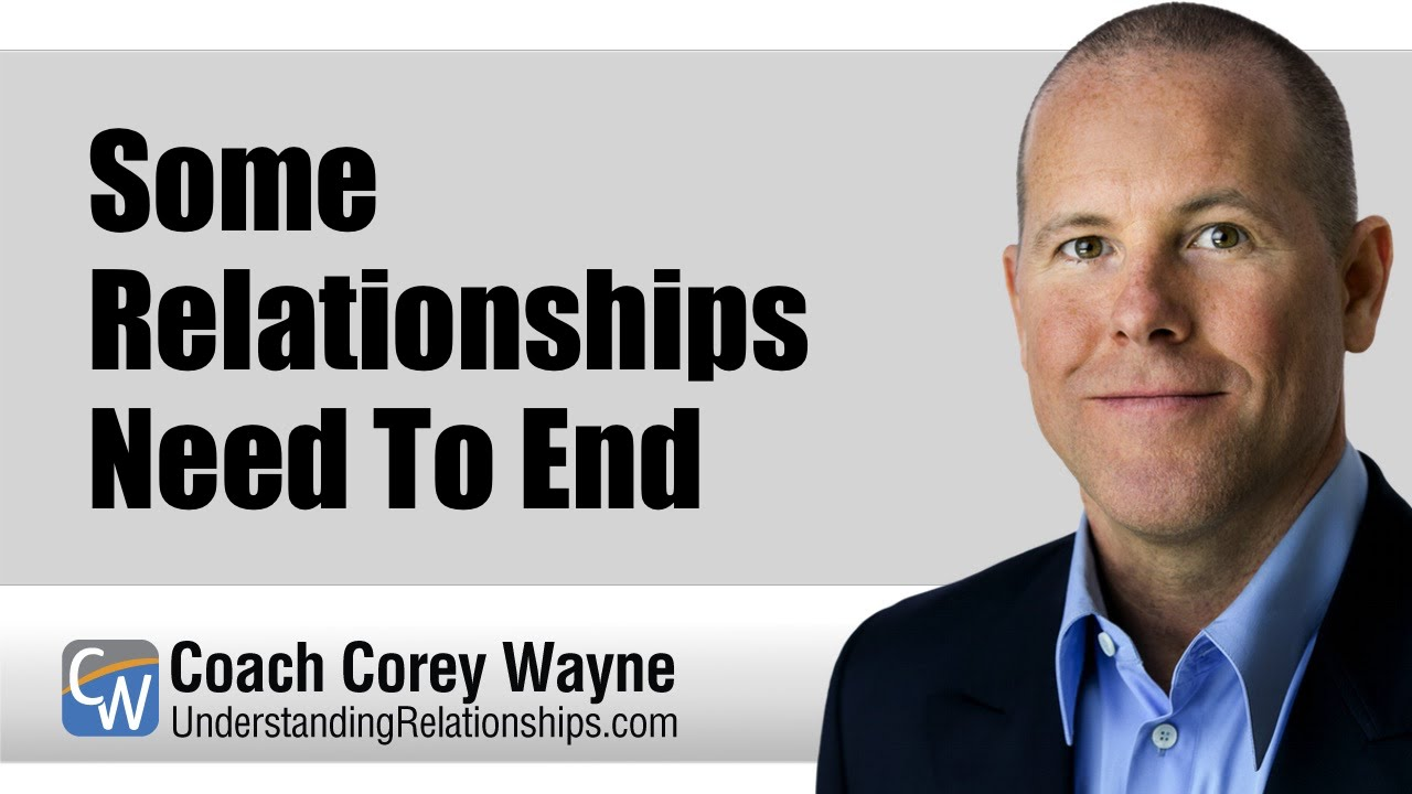 Some Relationships Need To End