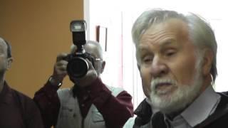ТИМОФЕЕВ  Открытие выставки  Б-ка им.Н.Рубцова