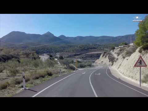 Spain in Winter-Season, wonderful with a motorcycle Part 2 Busot