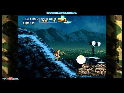 METAL SLUG 3 Gameplay Mission 2 ZOMBIES |