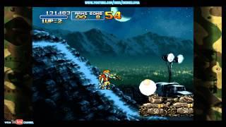 METAL SLUG 3 Gameplay Mission 2 ZOMBIES