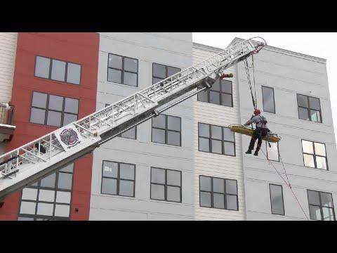 Construction site rescue in Charlotte