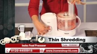 HomeShop18.com - Inalsa Food Processor