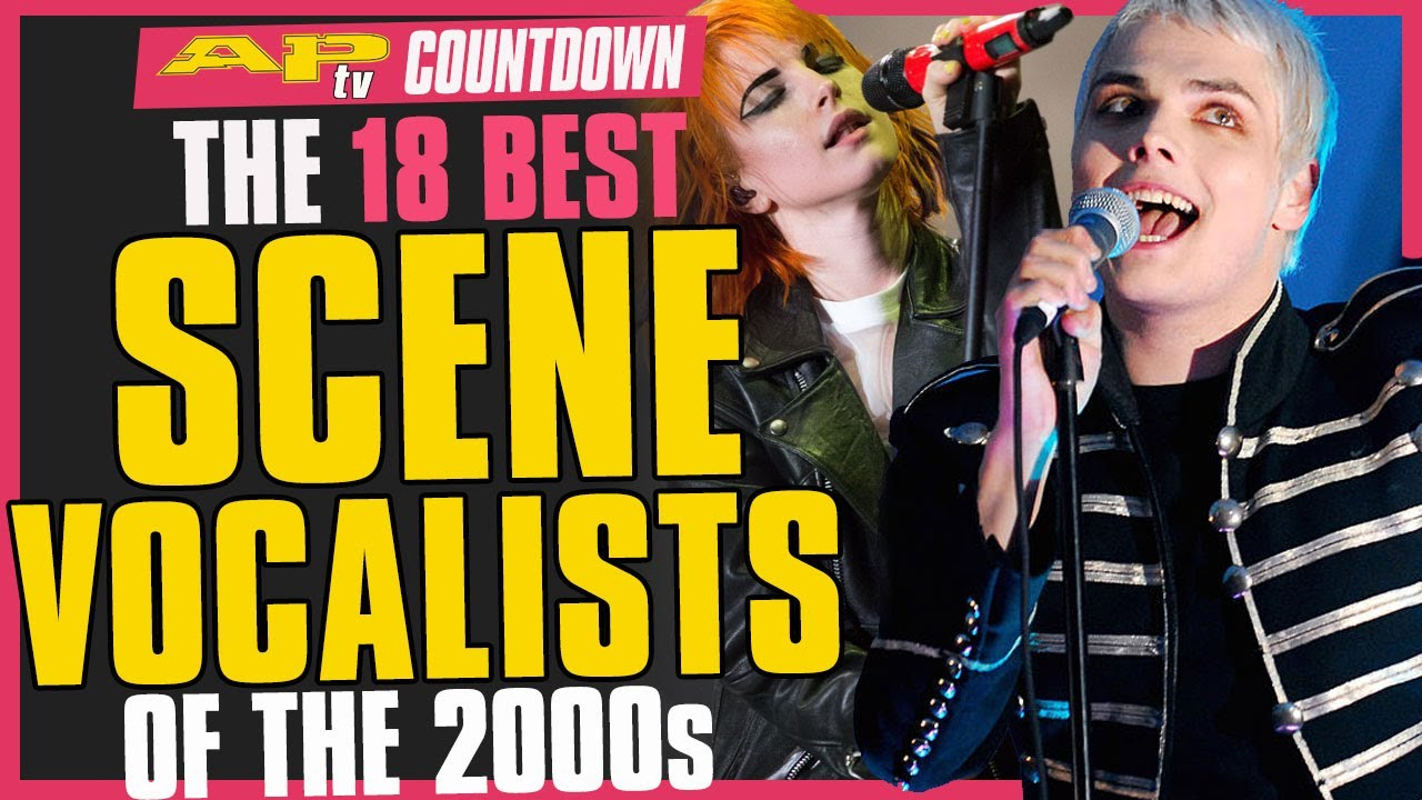 18 Best Scene Vocalists From the 2000s–From Gerard Way to Hayley Williams