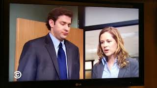 The Office. Michael tells Pam he's dating her mom