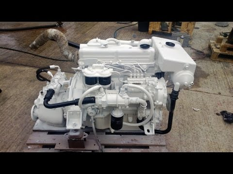 For Sale: Ford Mermaid Melody 88hp Marine Diesel Engine & PRM Gearbox - GBP 2,749
