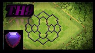 Th9 Base | Th9 Mega Troll Base | Th9 Farming base 2019 -  with proof | Clash Of Clans