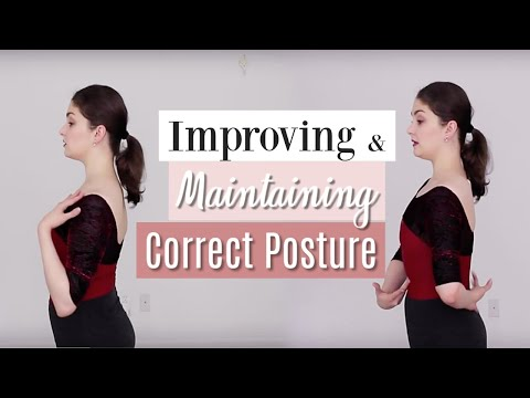 Improving & Maintaining Correct Posture | Kathryn Morgan