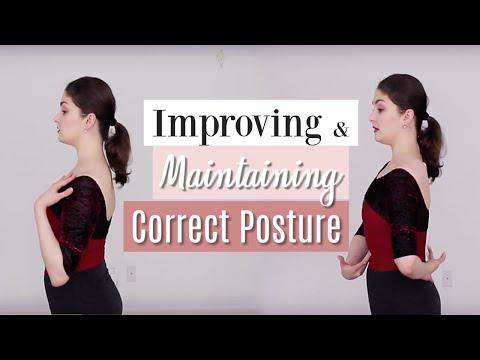 Improving & Maintaining Correct Posture | Kathryn Morgan