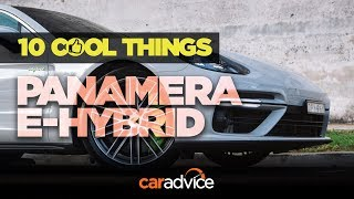 2018 Porsche Panamera Turbo S E-Hybrid: 10 Cool Things!