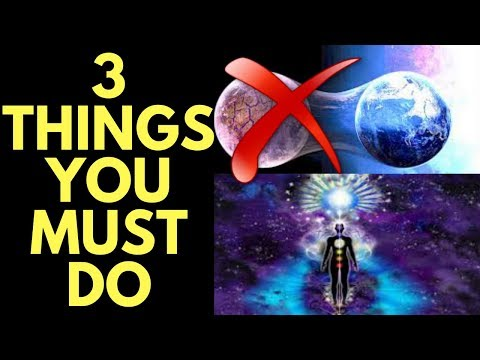3 Things You MUST Do to TRANSCEND the Third Dimension