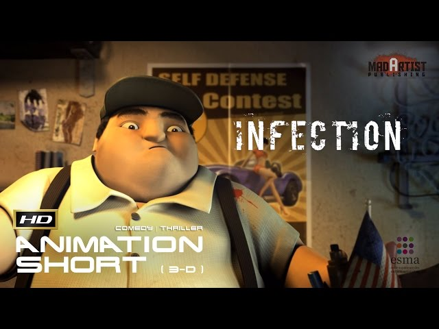 INFECTION | Store robbery gone bad - 3D CGI Animation Film by ESMA