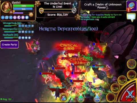 Arcane Legends - Curse Of The Cryostar! - Umbral Chasm