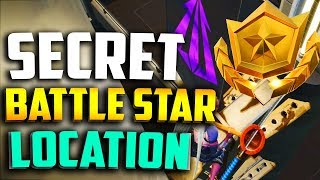 WEEK 4 SECRET BATTLE STAR LOCATION in FORTNITE - FORTNITE WEEK 4 BLOCKBUSTER BATTLE STAR LOCATION