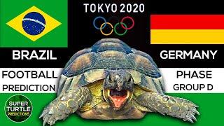 Olympics 2021 Brazil vs Germany Football Predictions Tokyo 2020