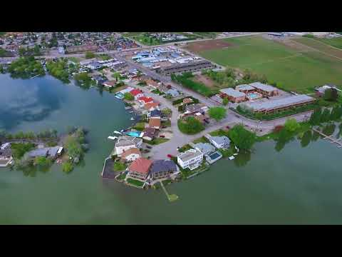 RDOS Spring Flooding   Aerial Footage   May 10, 2018