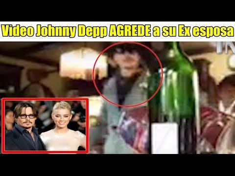 Filtran video DONDE Johnny Depp AGREDE a su Ex Esposa Amber