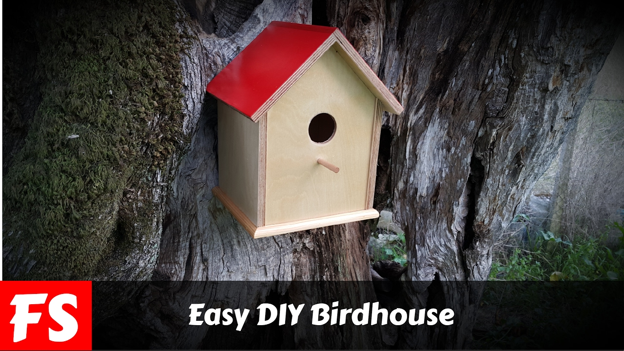 How to make a bird house - How To Make A Birdhouse Fs Woodworking
