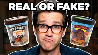 Download Real or Fake Ben & Jerry's Ice Cream Flavors (GAME) Mp3 and Videos
