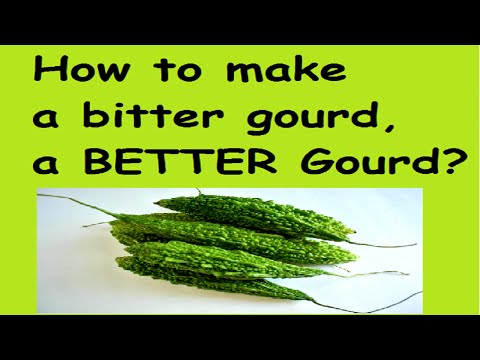 How to reduce the bitterness of a Bitter Gourd/Bitter Melon