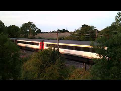 Greater Anglia Class 90 + DVT