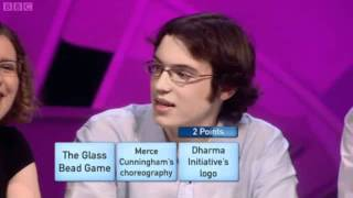 Only Connect University Challenge 2011 Special part 1
