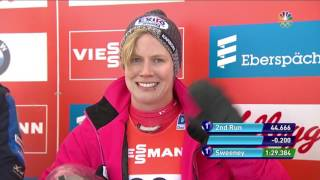 Winter Champions Series: Emily Sweeney Slides To Silver In Park City